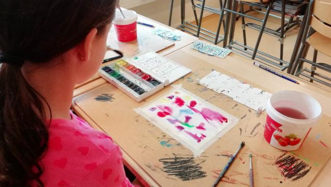 Kuvituskuva, Vihdin Kuvataidekoulu