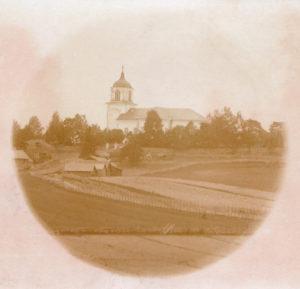Vihdin kirkko ja Ristinpelto 1800-1900- lukujen vaihteessa